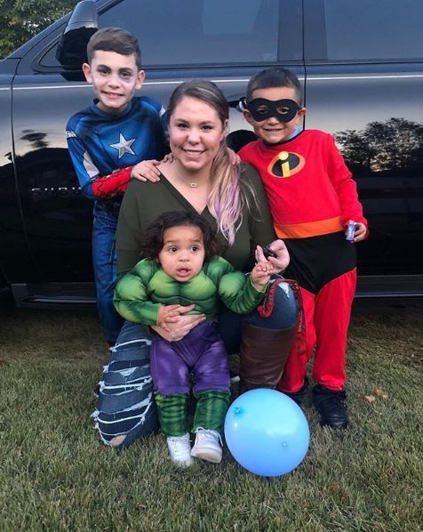Kailyn Lowry and her sons