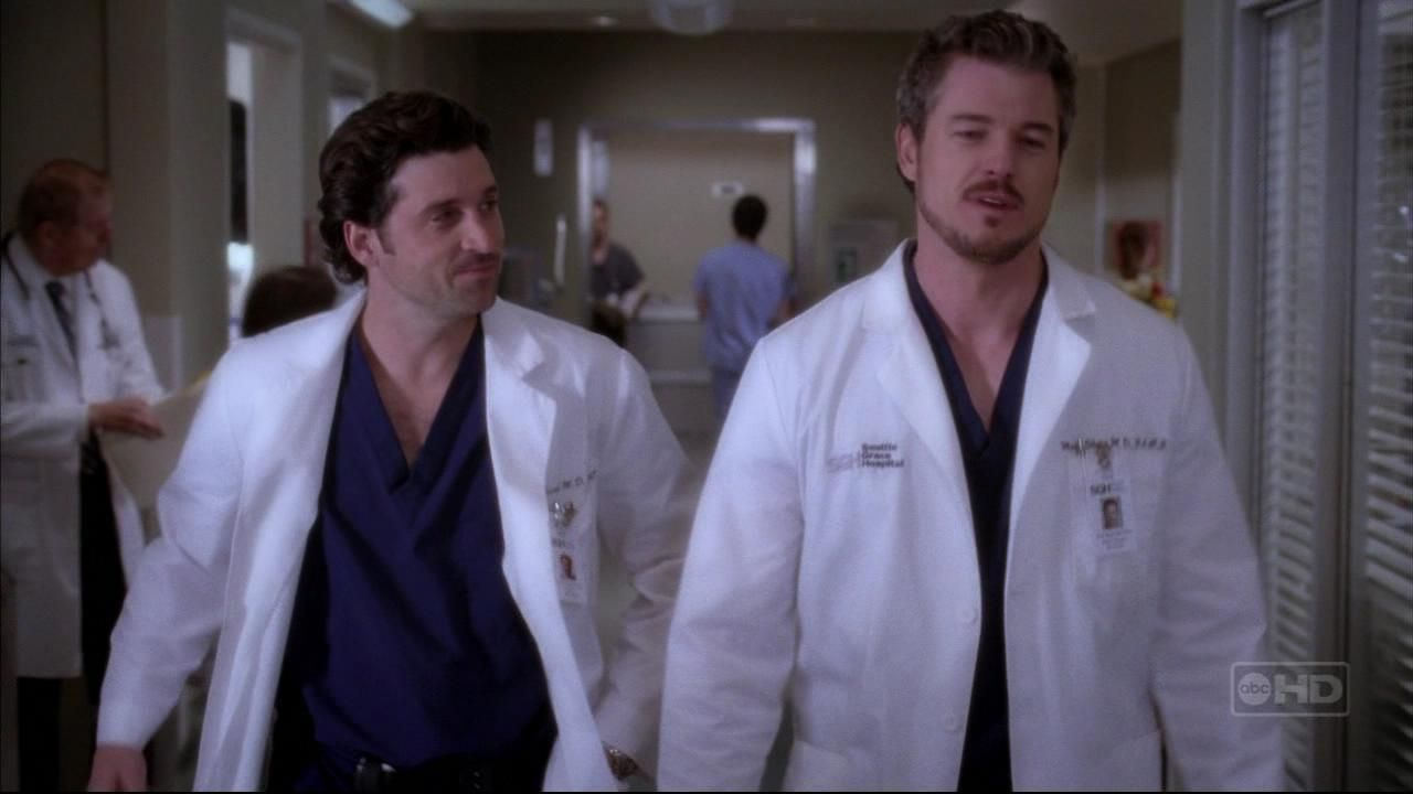 Mark Sloan and Derek Shepherd