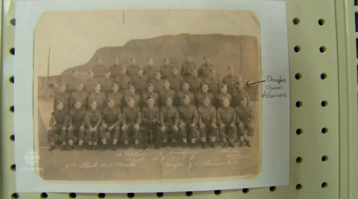 A photo of military veterans