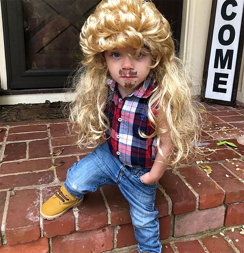 MacKenzie McKee's son Broncs as Joe Dirt