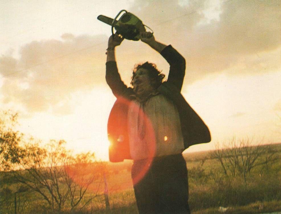 Gunnar Hansen as Leatherface in 'The Texas Chainsaw Massacre'