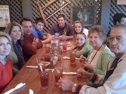 Thanksgiving Dinner At Cracker Barrel