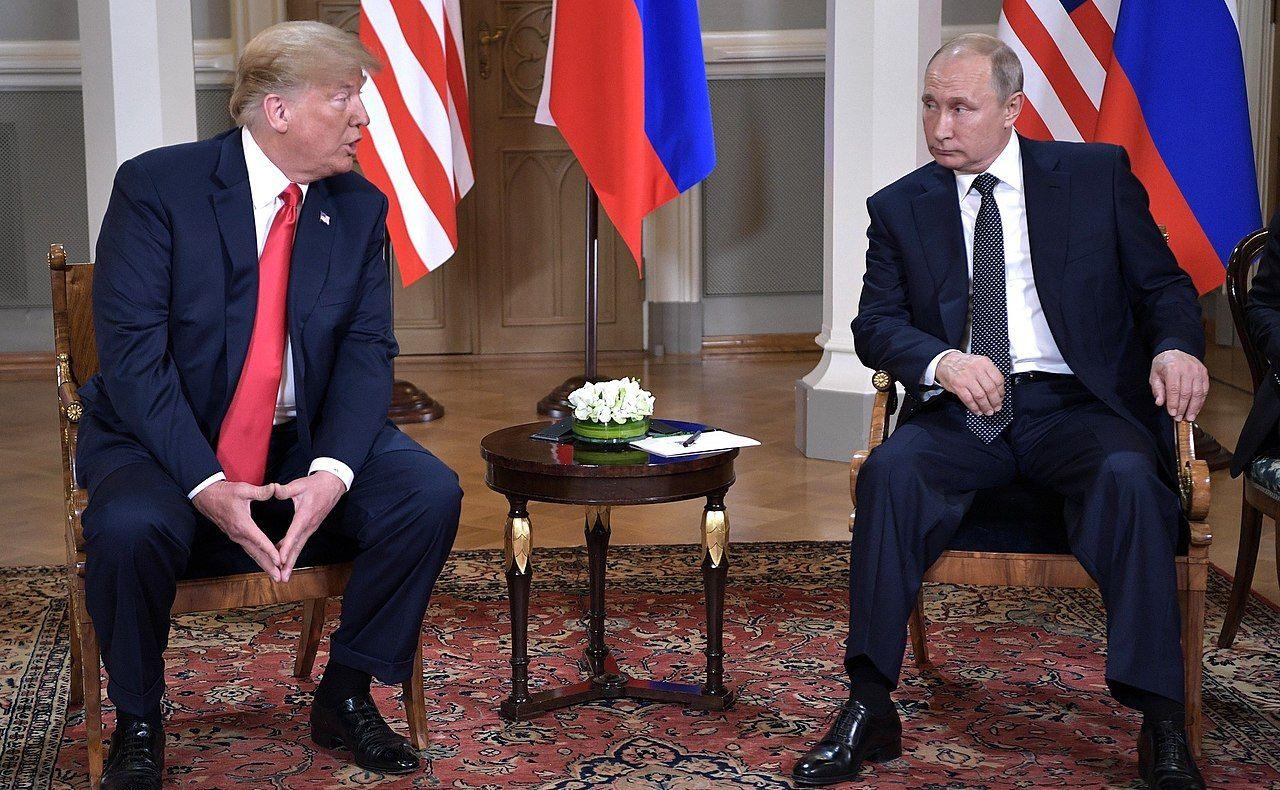 President Donald Trump and Russian President Vladmimir Putin