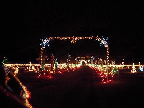 Christmas Lights at Sowell farm