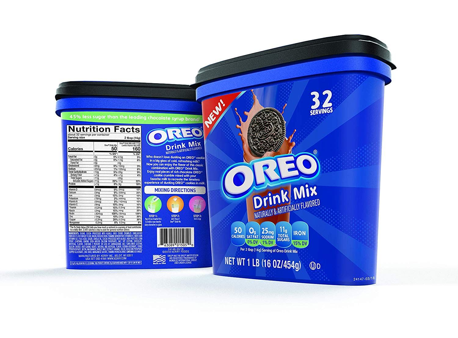 Oreo Cookie Drink Mix