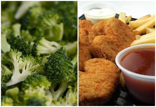 Broccoli chicken tenders