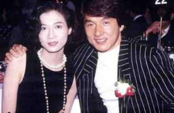 Jackie Chan Joan Lin