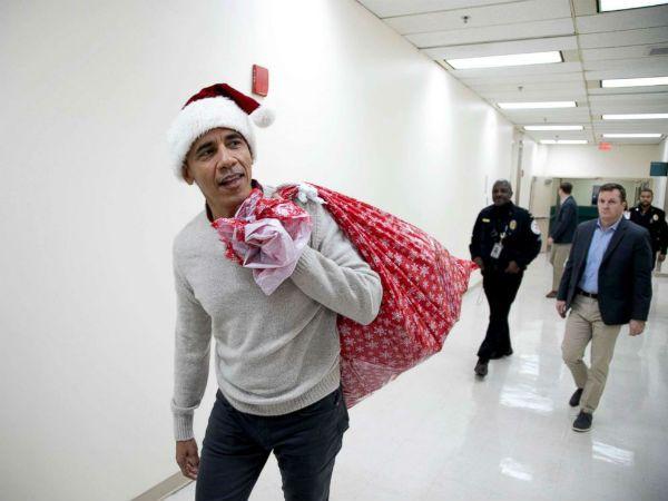 Barack Obama Christmas