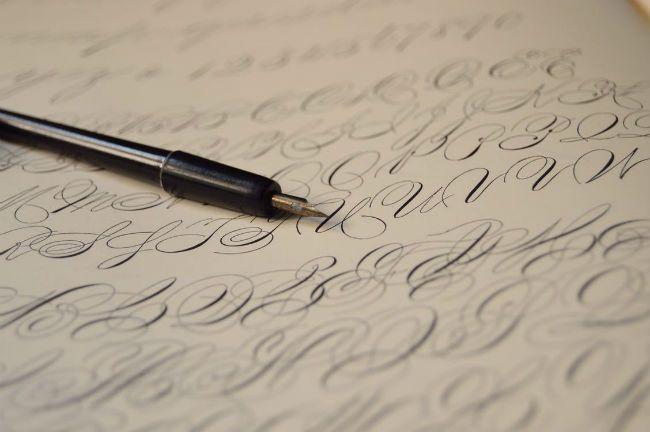 Cursive Writing Pen