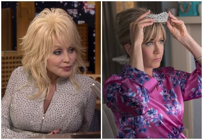 Jennifer Aniston Dolly Parton