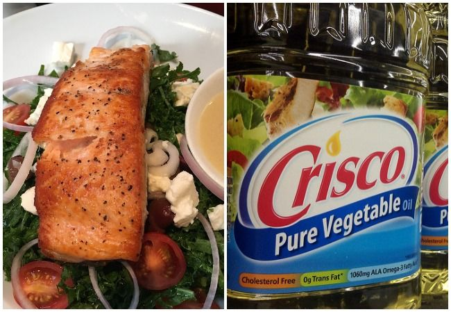 Salmon Vegetable Oil