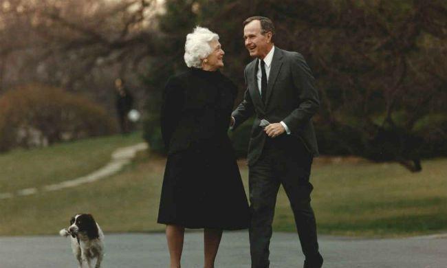 George HW Bush Barbara