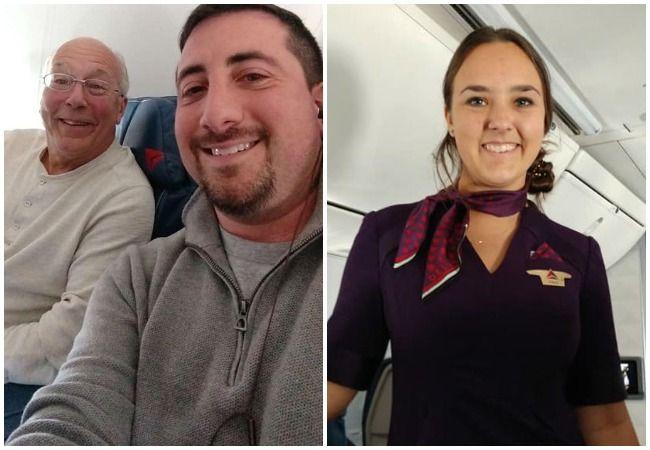 Flight attendant Christmas