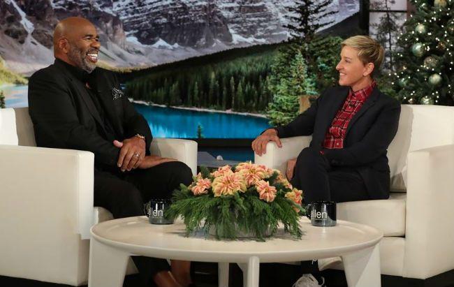 Steve Harvey Ellen DeGeneres