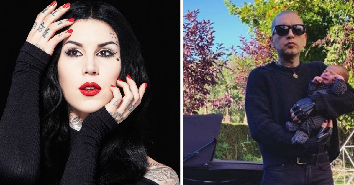 Kat Von D Welcomes First Child With Husband Leafar Seyer