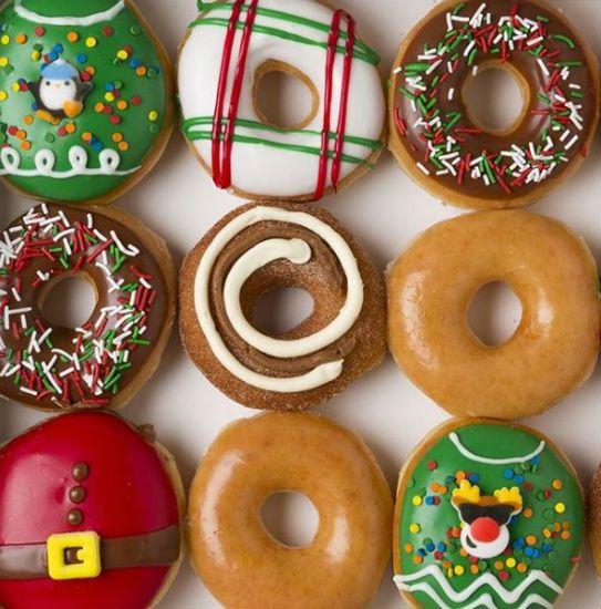 Krispy Kreme Christmas