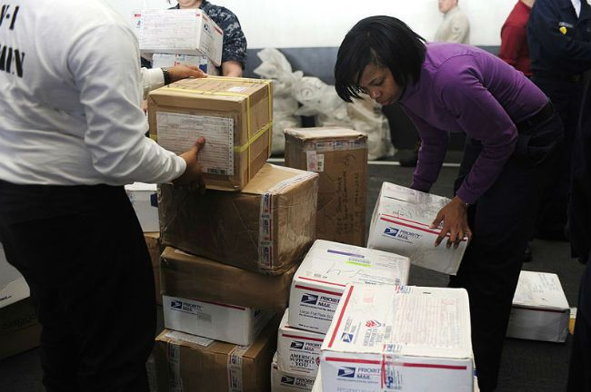 Mail packages