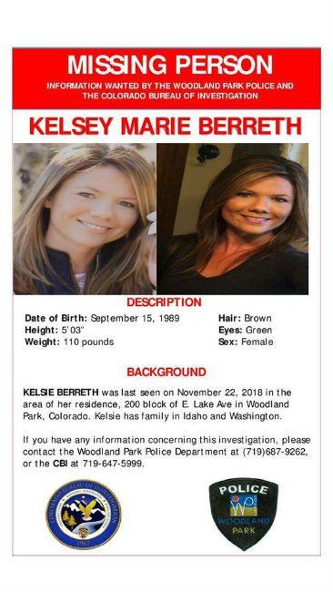 Kelsey Berreth Missing