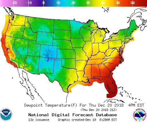 Christmas weather forecast