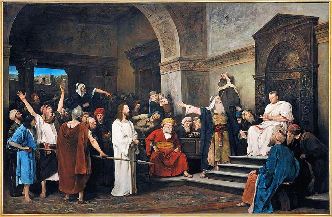 Christ Pontius Pilate