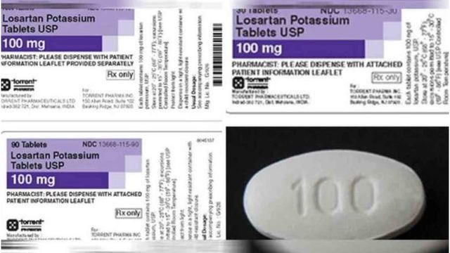 Torrent Pharmaceuticals Losartan
