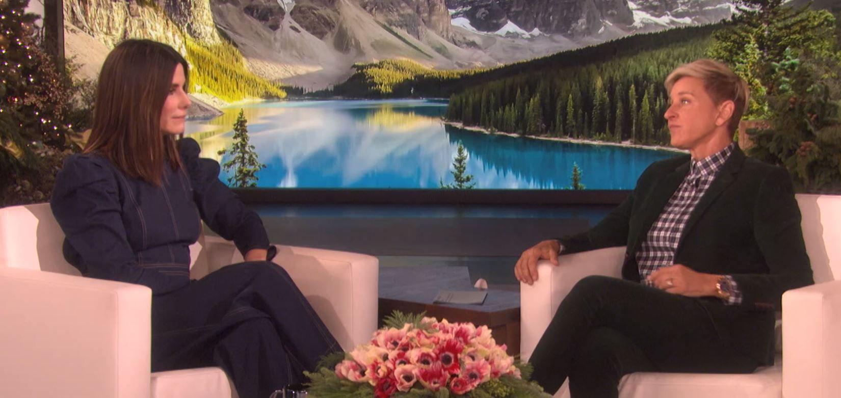 Sandra Bullock on Ellen
