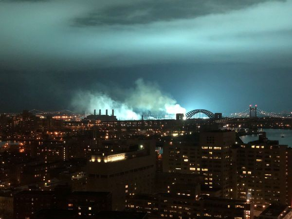 Blue Light New York City