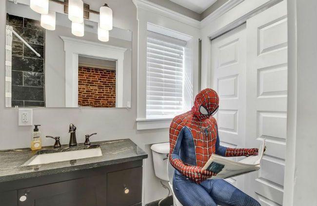 Spider-Man home photos