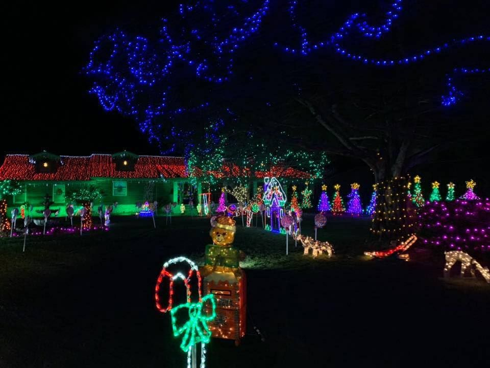 Sowell's North Pole Christmas Light Display