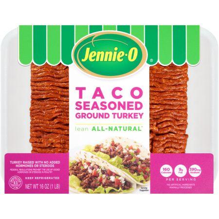 Jennie-O Taco Seasoned Ground Turkey