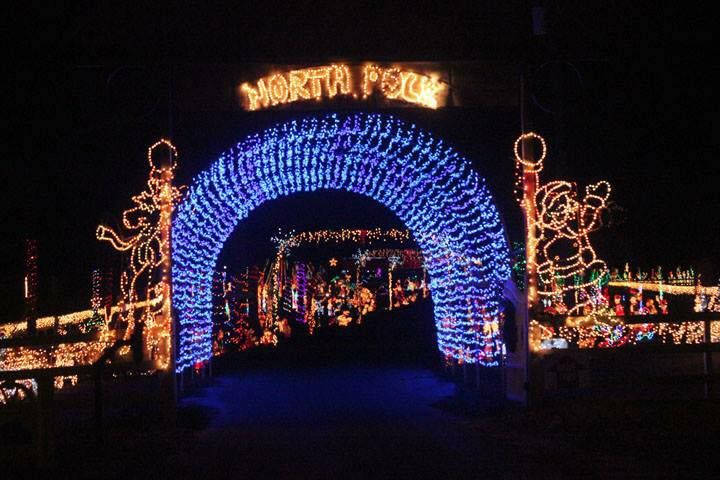 Sowell's North Pole Christmas Lights Display/Facebook