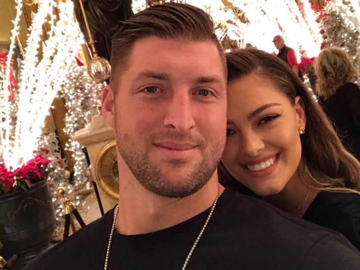 Tim Tebow and Demi-Leigh Nel-Peters selfie