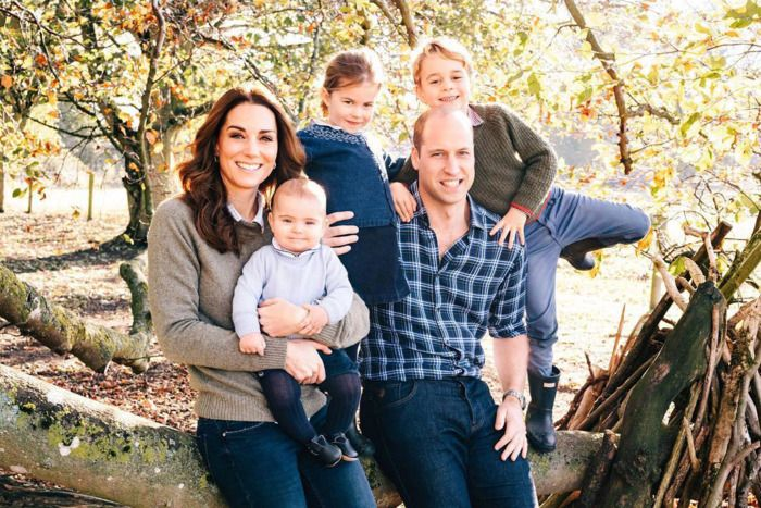 Kate Middleton, Prince William, and their children