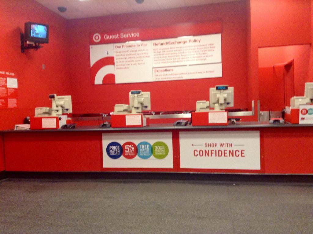 Target Customer Service Desk