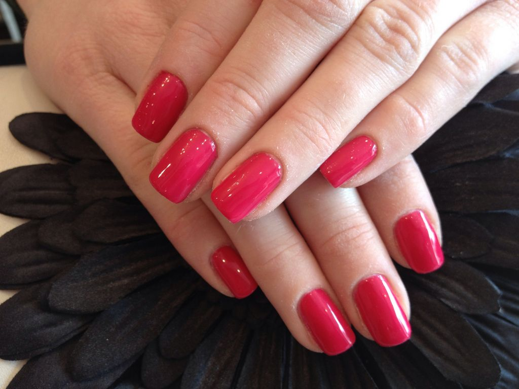 Gel polish on nails
