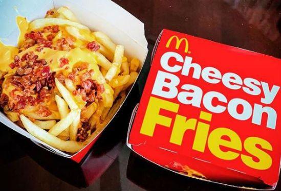 Cheesy Bacon Fries McDonalds