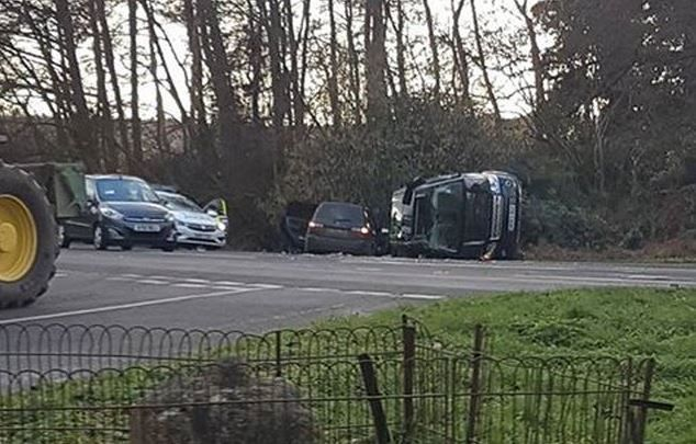 Prince Philip car crash