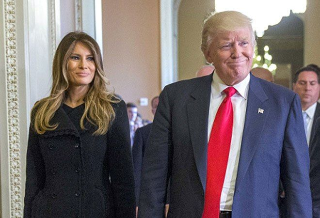 President Trump Melania