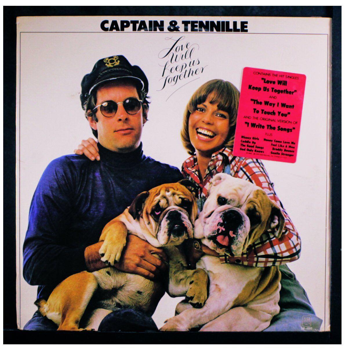Captain & Tennille album cover