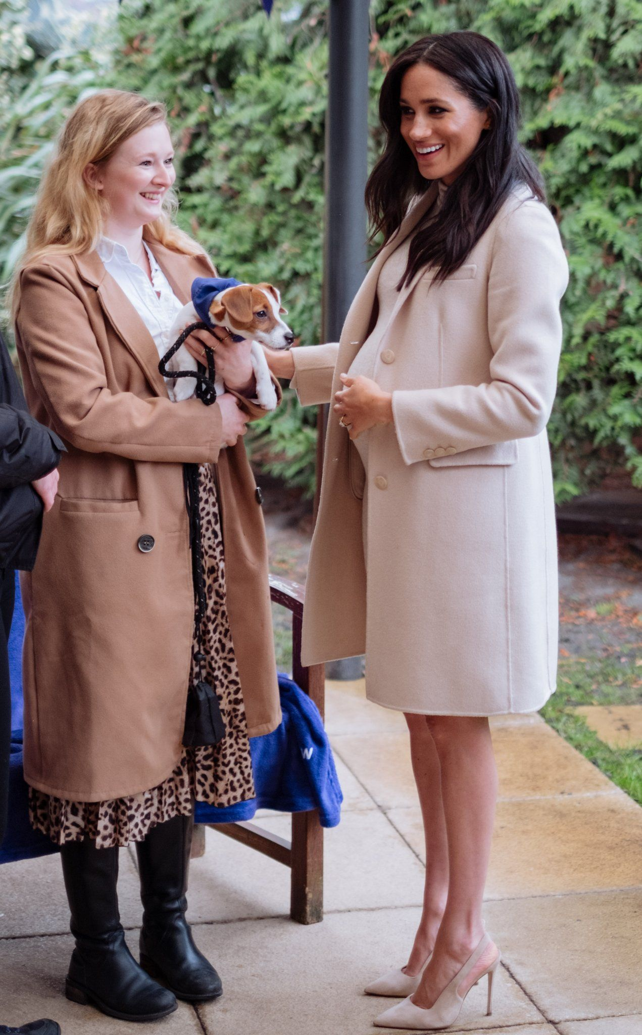 Meghan Markle at The Mayhew