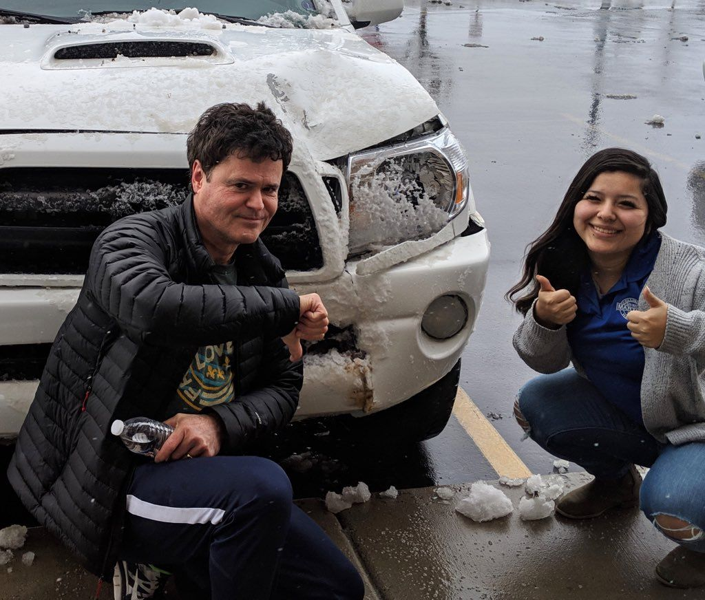 Donny Osmond accident