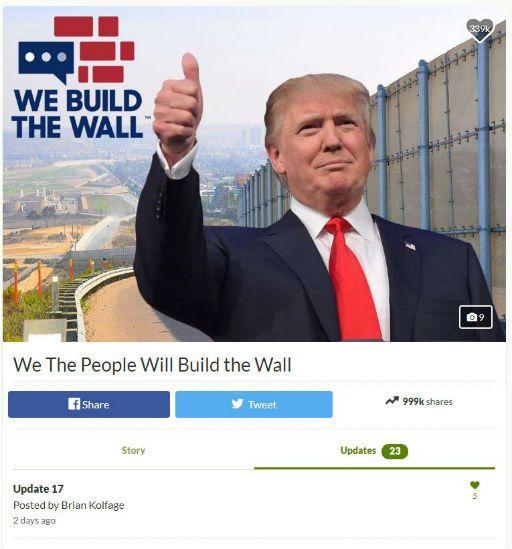 Border Wall GoFundMe