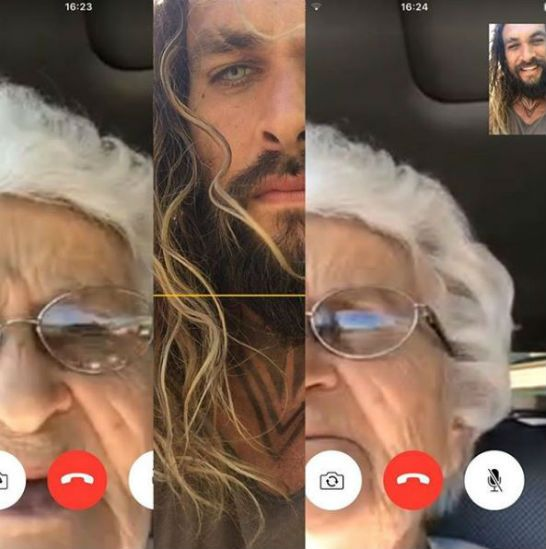 Jason Momoa grandmother