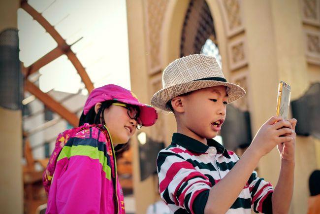 Smartphones children