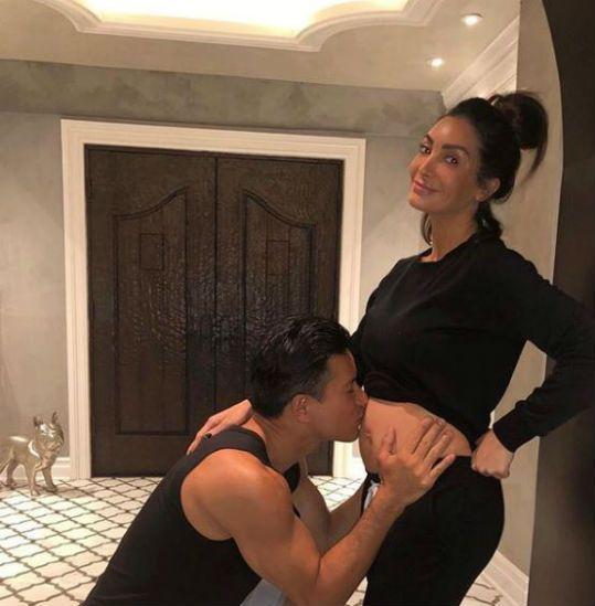 Courtney Lopez baby announcement