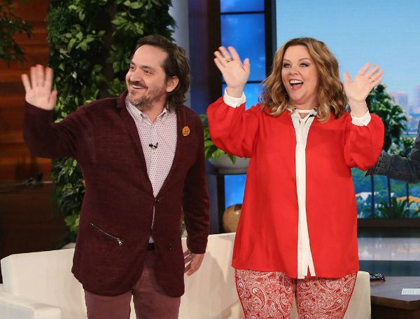 Melissa McCarthey and Ben Falcone