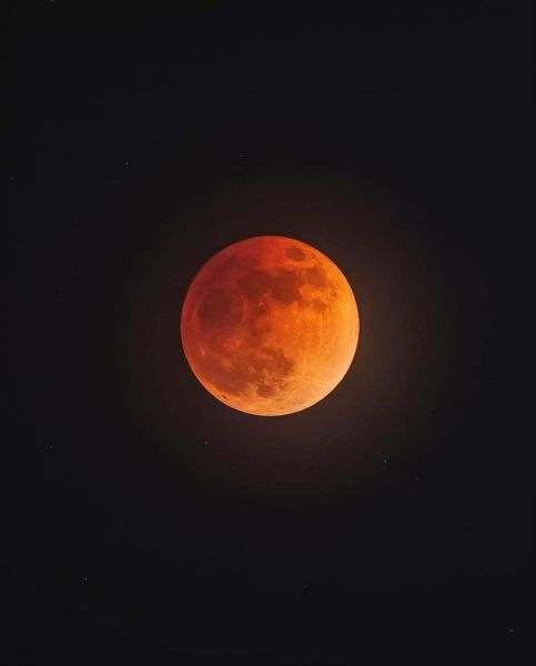 Mexico Blood Moon Eclipse