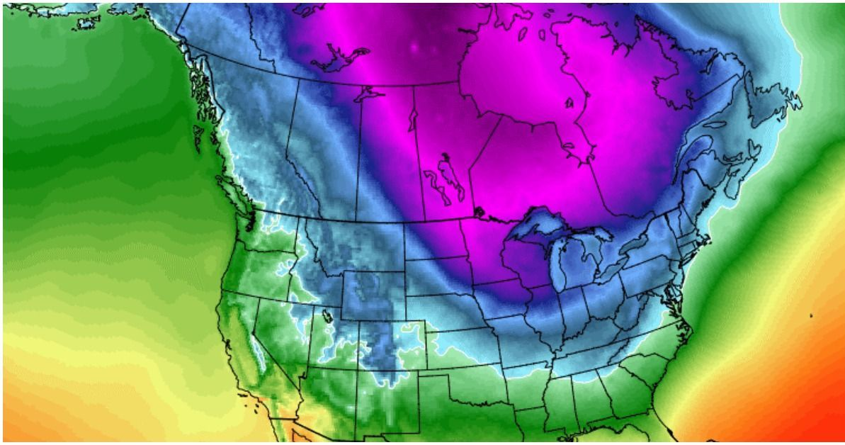 Polar Vortex To Invade Midwest, Wind Chills May Exceed 50 Below Zero