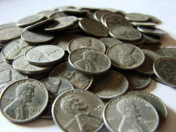 Steel pennies