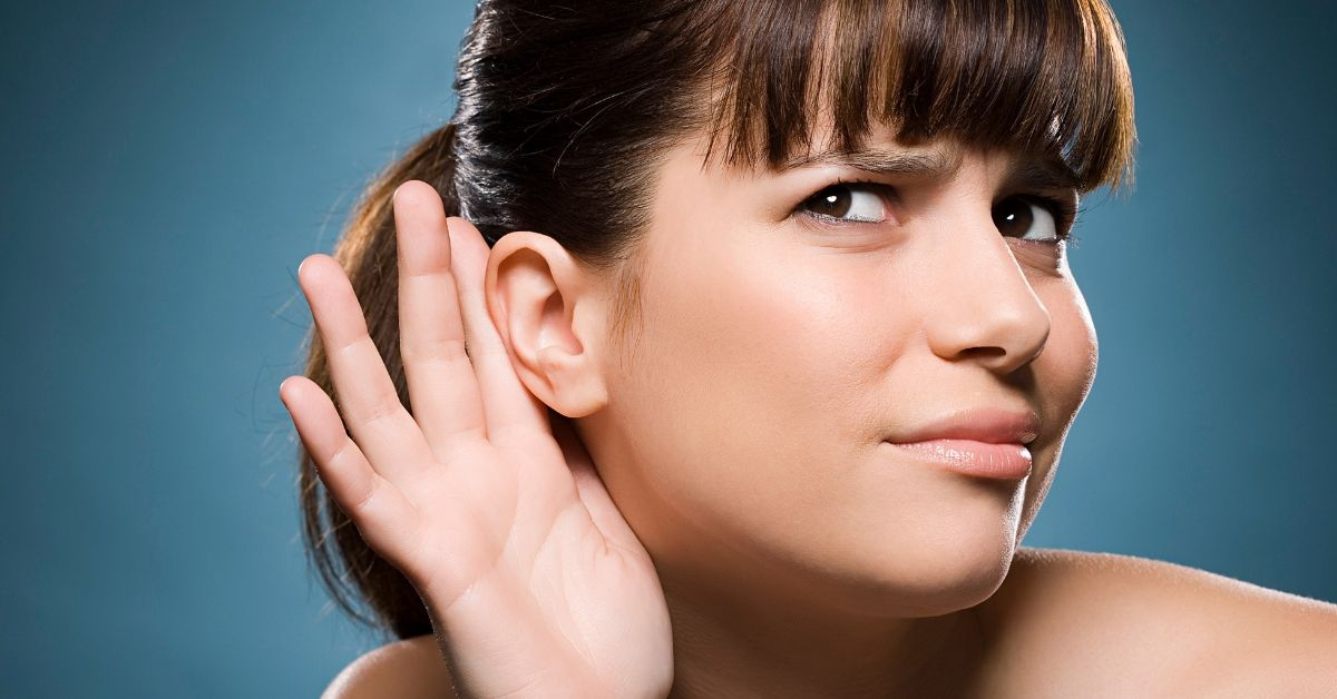 Woman Can't Hear Men's Voices Because Of Rare Condition